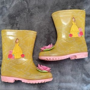 Belle Beauty And The Beast Yellow 8 Rainboots